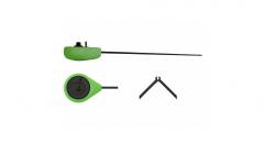 Удочка-балалайка зимняя Salmo SPORT 07 23см зелёная