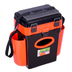 Ящик зимний Тонар Helios FishBox 10 литров двухсекционный