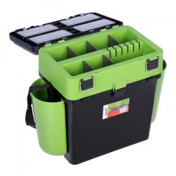 Ящик зимний Тонар Helios FishBox 19 литров двухсекционный