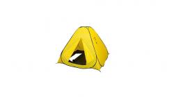 Палатка зимняя Comfortika автоматическая 1.5x1.5 м