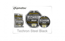 Леска плетёная Kamatsu Techron Black 10 метров