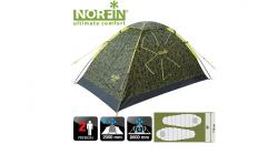 Палатка туристическая Norfin Ruffe 2 треккинговая 2-х местная