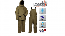 Костюм зимний Norfin Hunting WILD GREEN до –30°С