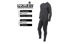 Термобелье Norfin COTTON LINE Black