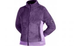 Куртка флисовая женская Norfin Moonrise Violet, дышащая