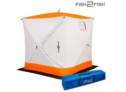 Палатка Куб зимняя Fish2Fish 1.8x1.8x1.95 м