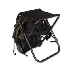 Табурет Кедр складной (рамка в рамку), средний с рюкзаком 15 литров