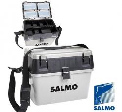 Ящик рыболовный зимний Salmo 2-х ярусный пластиковый 38x24,5x29 см.