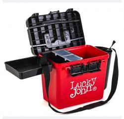 Ящик рыболовный зимний Lucky John (из 6-ти частей) пластиковый 38x26x31,5 cм.